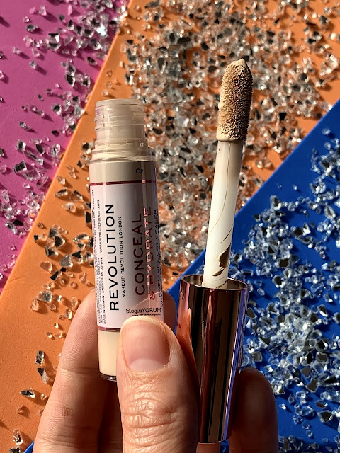 makeup revolution conceal define concealer kapatıcı incelemesi