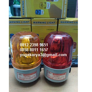 Jual Lampu Rotary Sirine Merah Kuning LTE 1121J 4Inch di Jakarta