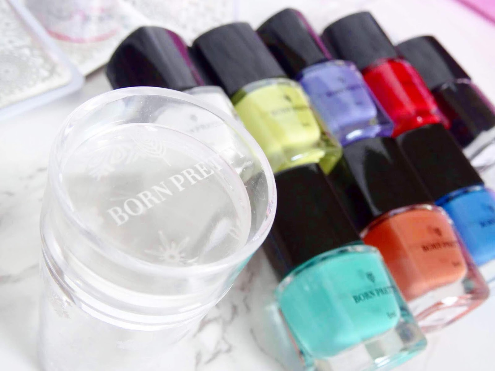 Born Pretty Stamping Polishes and Stamper