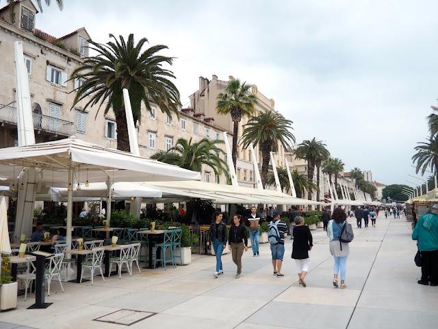 Riva Promenade, Split, Croatia