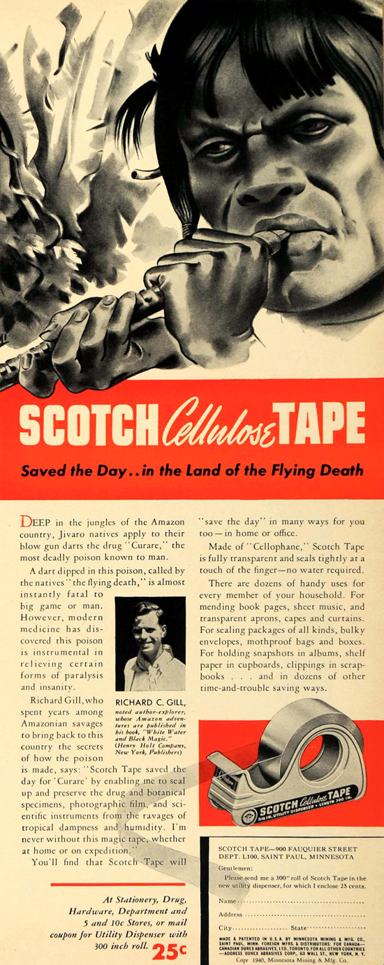 Scotch advertising 1940