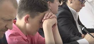 Пьяная Савченко уснула на заседании нацбезопасности Украины