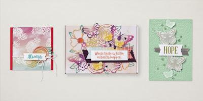 Stampin' Up! Paper Pumpkin: August 2021 Hope Box Alternative Project Ideas #paperpumpkin