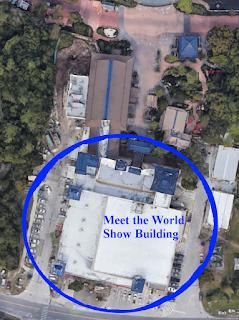 Abandoned Building Epcot Japan Pavillon Disney World