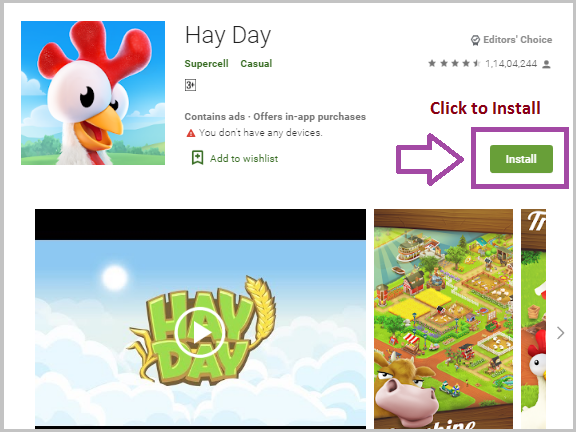 hay day game for windows pc