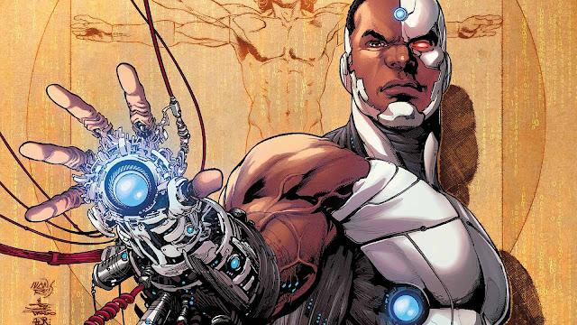 Super Herói com Deficiência - Ciborgue
