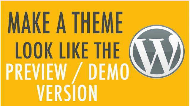 I Will Install Your Wordpress Theme And Setup Like Demo | wordpress theme | install theme | theme demo