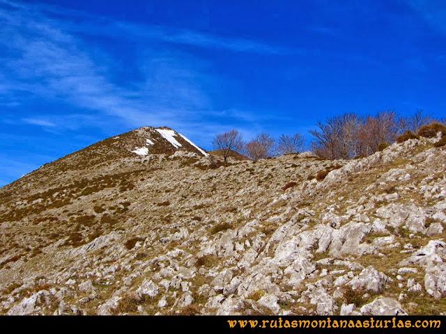 Ruta Pico Vízcares: Antecima del Vízcares