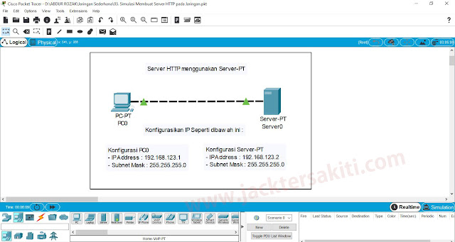 Tutorial Membuat Web Server di Cisco Packet Tracer