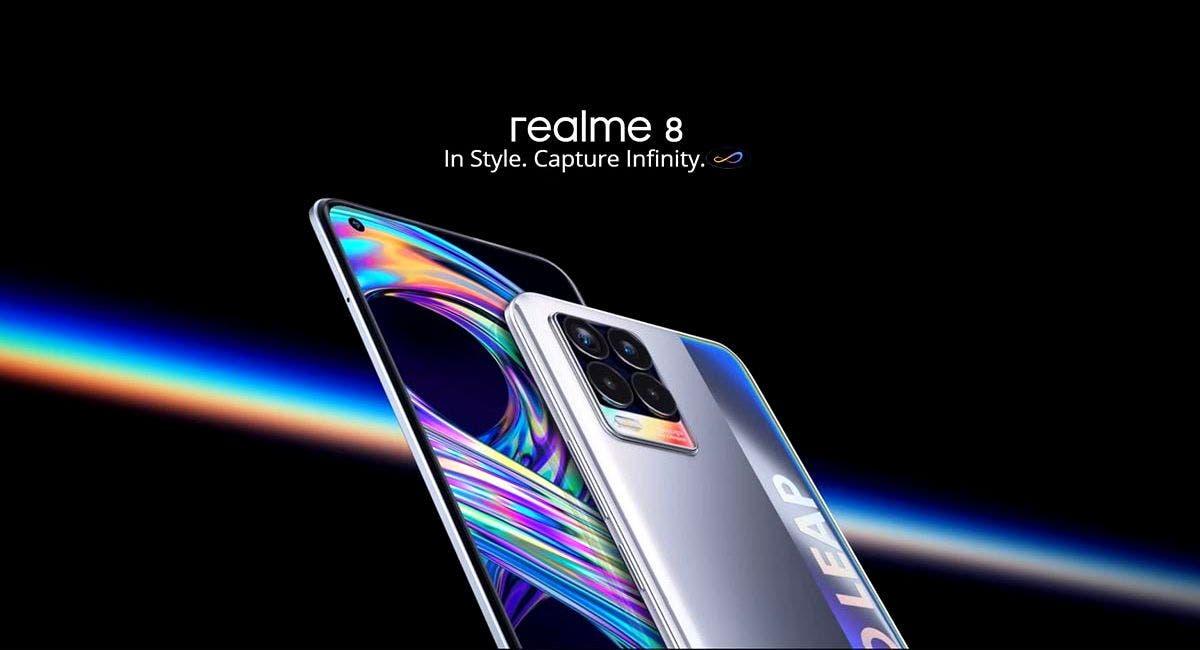 اقترب موعد إطلاق هاتف REALME 8 5G + مواصفات الهاتف