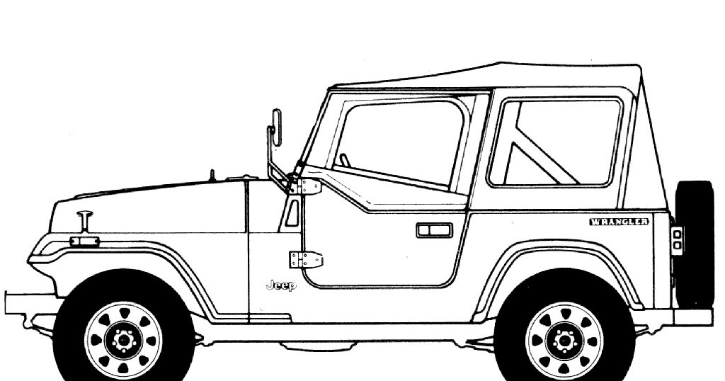 Jeep Cherokee Coloring Pages Realistic Coloring Pages