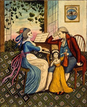 Lolotte and Werther (1810), Eunice Pinney