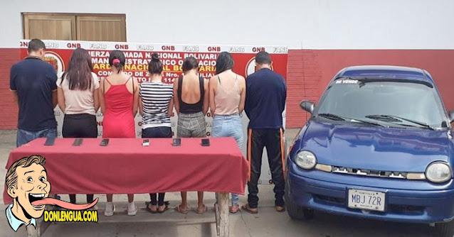 Detenidos por captar niños de Maracaibo para prostituirlos en la frontera
