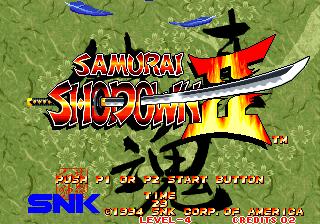 Samurai Shodown II + Shin Samurai Spirits - Haohmaru jigokuhen Online MAME