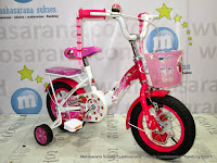 12 Inch Wimcycle Strawberry CTB Kids Bike