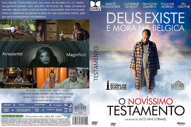 Capa DVD O Novíssimo Testamento