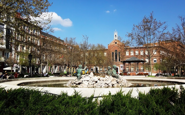 Bairro Chamberí em Madri