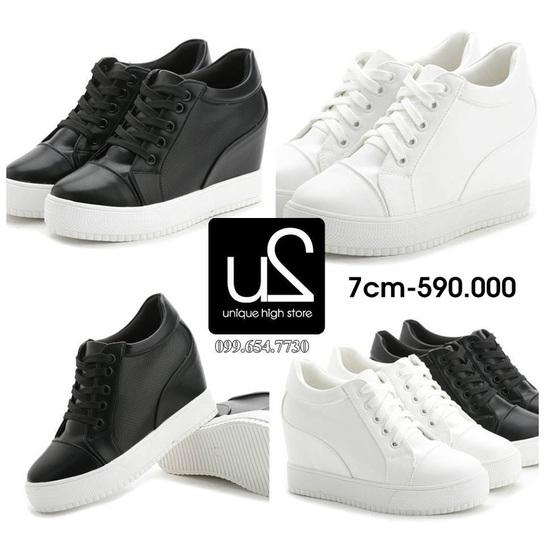 Giày tăng chiều cao nữ sneaker cá tính năng động tại tphcm và hà nộ1i