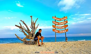 pantai sembilan gili genting pulau madura