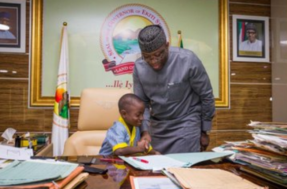 7-year-old-boy-acts-as-governor-of-Ekiti-state-13
