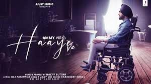 Haaye Ve Lyrics Punjabi & English | Ammy Virk