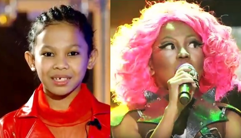 Awra Briguela as Nicki Minaj wins 'Your Face Sounds Familiar Kids'