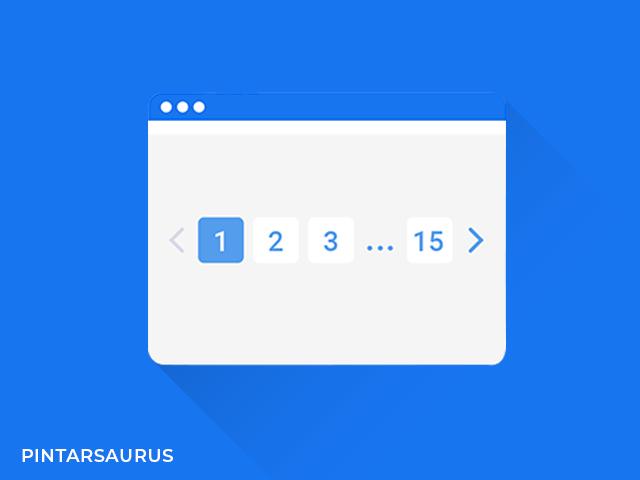 Cara Membuat Pagination Number Valid HTML 5 di Blog