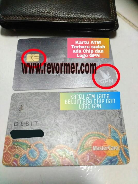 Kartu Atm Kamu Tidak Ada Chip Dan Gambar Burung Garuda Ganti Segera Dengan Kartu Atm Gpn Revormer Com