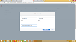 How to edit the records with a radio button in salesforce