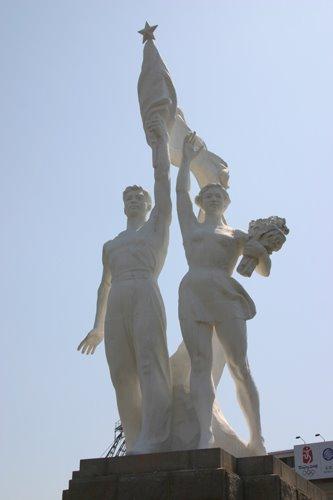 Statue, Workers Stadium Beijing