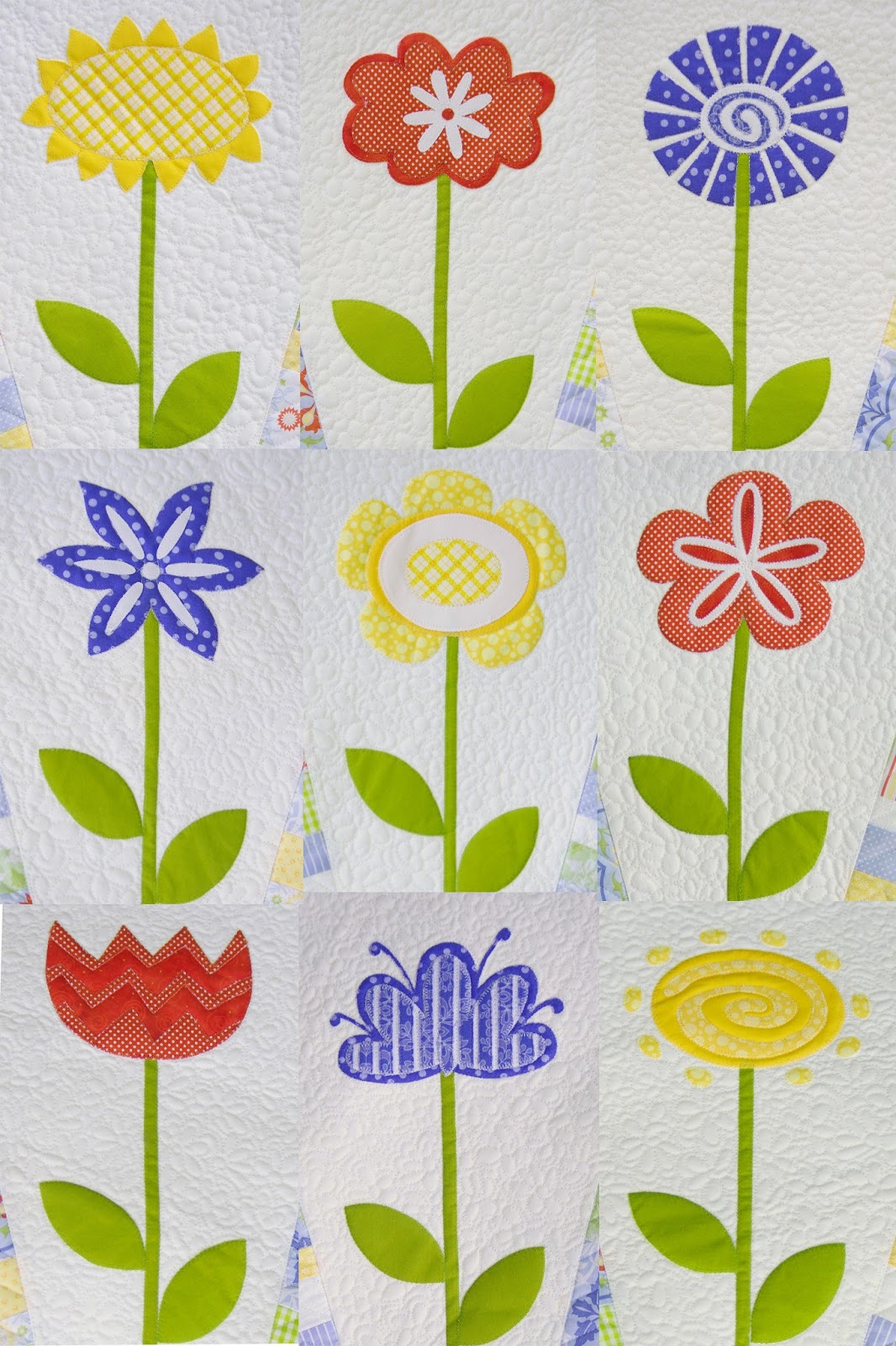Ahhh Quilting Flower Wheel Quilt