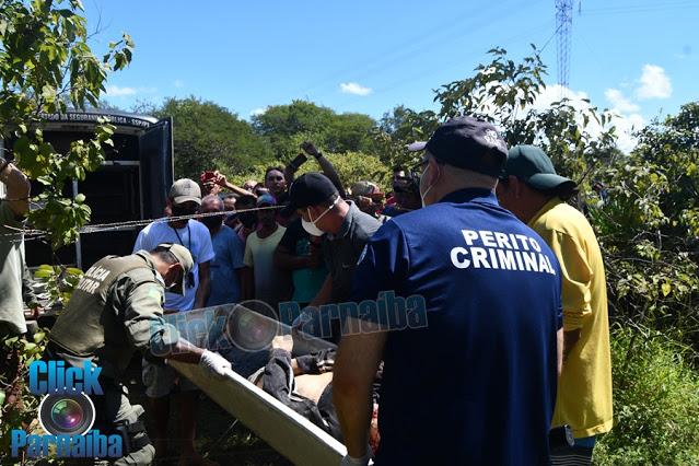 URGENTE: Homem é executado a tiros e enterrado em cova rasa na zona rural de Luís Correia