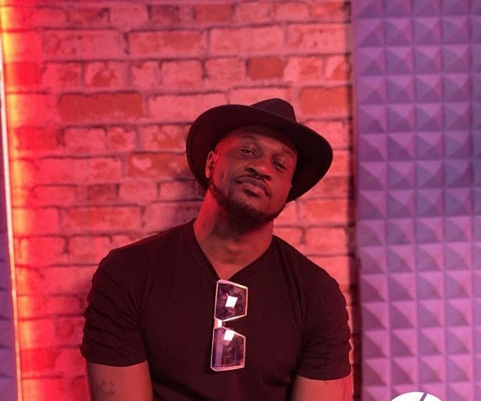 Celebrity Gist: Peter Okoye says he had nothing when he met his wife, gives advice to men