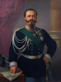 Victor Emmanuel II: a portrait from 1860