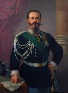 Victor Emmanuel II: a portrait from 1860