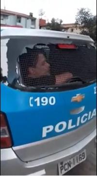 VÍDEO: Fábio Assunção dá vexame e é preso após xingar policiais