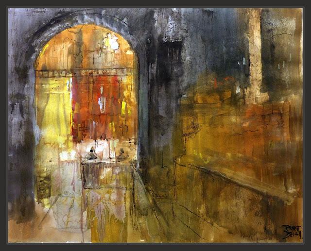 CAPELLA-SANTÍSSIM-LA SEU-MANRESA-PINTURA-ART-INTERIOR-BASILICA-MISA-CATEDRALS-CATALUNYA-PINTURES-ARTISTA-PINTOR-ERNEST DESCALS