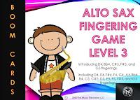 Alto Sax - Level 3