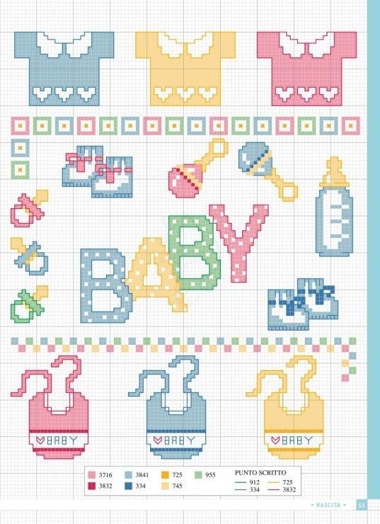 Cómo Hacer Punto De Cruz Para Bebes 29 Patrones Gratis 611 Opiniones El Cómo De Las Cosas