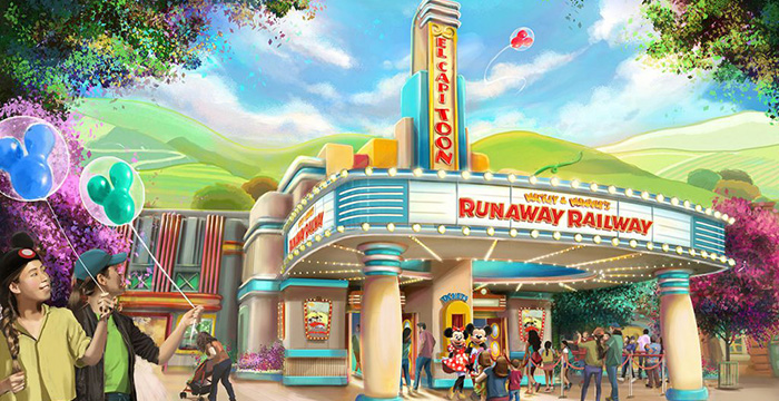 Mickey y Minnie's Runaway Railway