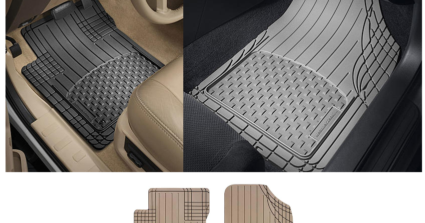 coupons and freebies  set of 4 weathertech premium all