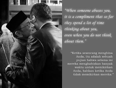 quotes bahasa inggris dari bj habibie tentang kehidupan