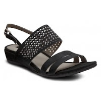 Sandale elegante dama ECCO Touch 25 S din piele intoarsa