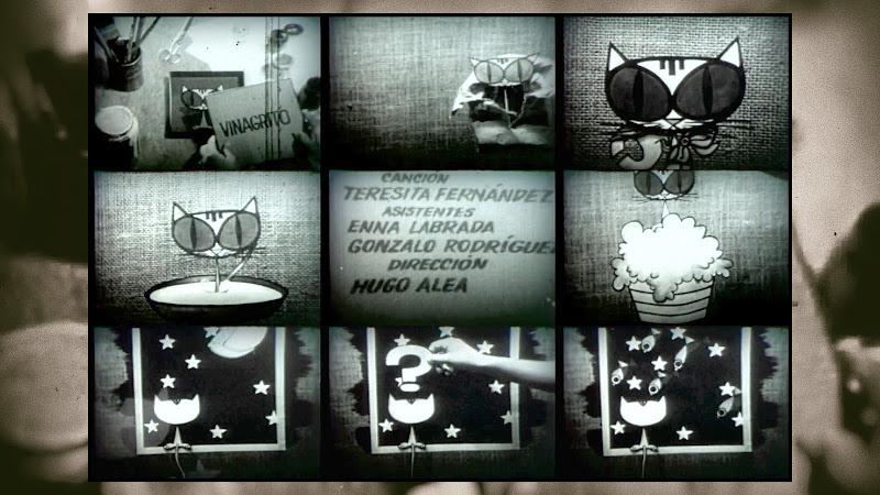 Teresita Fernández - ¨Vinagrito¨ - Videoclip / Dibujo Animado - Director: Hugo Alea. Portal Del Vídeo Clip Cubano