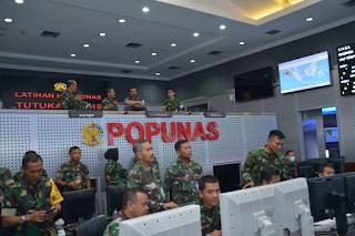Latihan Hanudnas Tutuka 2019