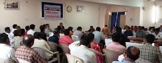 ग्राम पंचायतों के सचिवों के मध्य प्रशिक्षण कार्यक्रम आयोजित