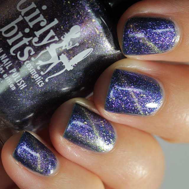 Girly Bits Galactic Haze swatch by Streets Ahead Style