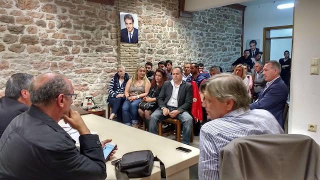 Θεσπρωτία: Ο Σωκρ. Μπότος νέος πρόεδρος της Τοπικής Επιτροπής Ν.Δ. Ηγ/τσας, μετά την παραίτηση Χρ. Δήμου