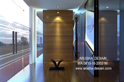 Design Lobby Lantai 1 Interior Gym Fitness