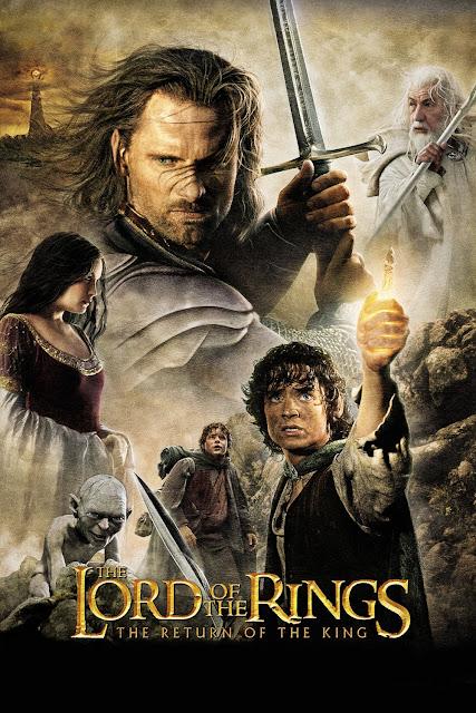 Portada El Señor de los Anillos - El retorno del Rey